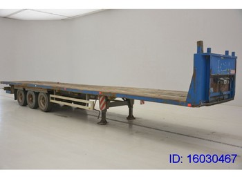 Flatbed semi-trailer Pacton Flat - air ride suspension