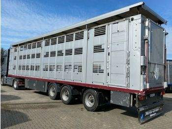 Livestock semi-trailer Menke 3 Stock Lenk Lift Vollalu
