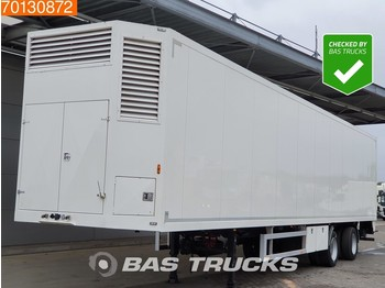 Ravenhorst Poultry / Chick / Birds Transport Lenkachse Ladebordwand - livestock semi-trailer