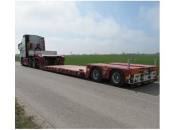 Broshuis Tiefbett  2 x ausziehbar  - semi-trailer low loader semi-trailer