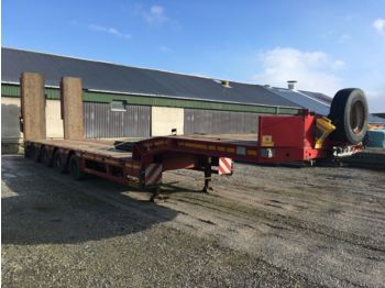 Low loader semi-trailer Faymonville Mutimax tieflader 4 Achser