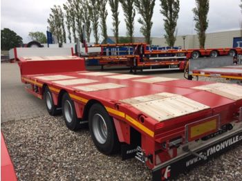 Low loader semi-trailer Faymonville tieflader 11.000 mm lang