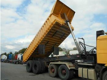 Tipper semi-trailer FORSS PARATOR 30M³ 2 AXLE FULL STEEL