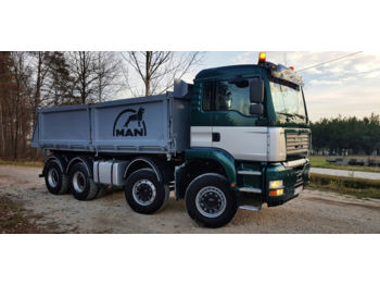 Tipper semi-trailer MAN TGA 35.480 8X4