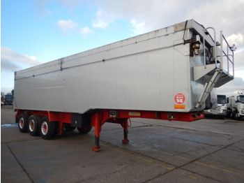 WILCOX 66 CU YD PLANK SIDED BULK TIPPING TRAILER - 2010 - C298618 - tipper semi-trailer