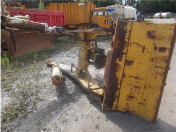 Frame Komatsu WA500-1 with lift cylinder and quick coupling - frame/ chassis