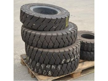 Assorted Forklift Tyres (6 of) - tires