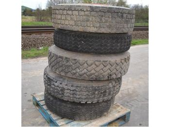 Pallet of Assorted Tyres (5 of) - tires