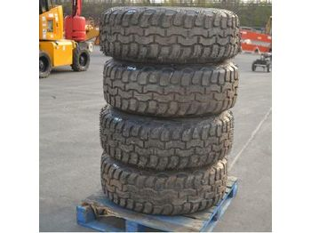 15R22.5 Tyres c/w Rims (4 of) - wheels/ tires