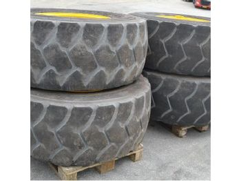Goodyear 20.5R25 Tyres c/w Rims (4 of) - wheels/ tires