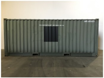 Container 20FT Used Incinerator Container