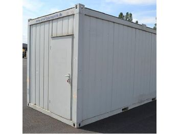 LOT # 5449 -- 20Ft Welfare Container - container