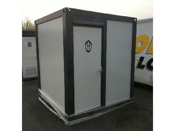 Unused Portable Toilets c/w Shower - container