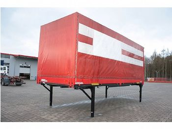 Kögel 3 x JUMBO BDF WB 7,45 m Bordwand Edscha Portaltür - curtainside swap body