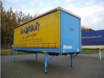 Kögel JUMBO BDF Plane Bordwand Türen 7,45 m - curtainside swap body