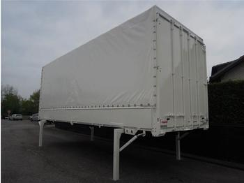 Curtainside swap body Krone - BDF System 7.450 mm lang, LACK + PLANE NEU!