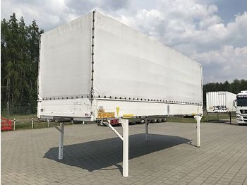 Krone BDF Wechselpritsche Plane 7.45 mit Bordwand - curtainside swap body