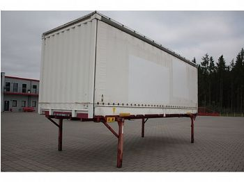 Krone Krone BDF WB Bordwand Edscha Schiebeplane - curtainside swap body