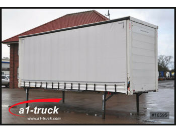Curtainside swap body Wecon Jumbo 7.82, neue Plane, verzinkt
