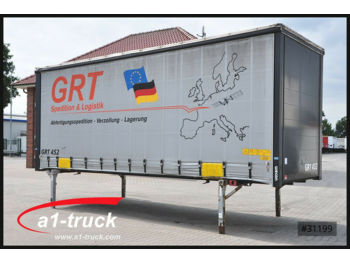 Curtainside swap body Wecon WPR 782, Hubdach, verzinkt Rahmen, Code XL