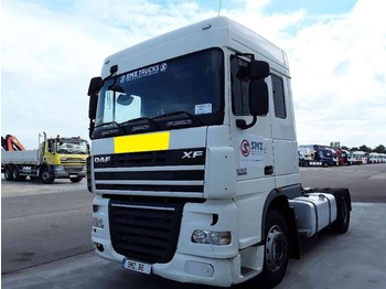 Tractor unit DAF 105 XF 410 Spacecab manual 297'km
