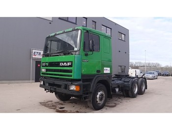 Tractor unit DAF 95 ATI 380 (10 TIRES / STEEL SUSPENSION / MANUAL PUMP / EURO 2): picture 1