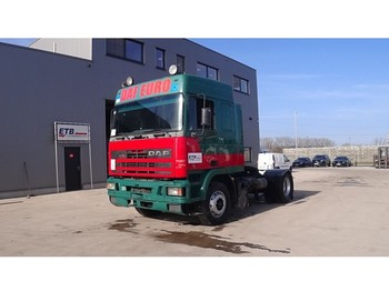 Tractor unit DAF 95 ATI 400 (6 CYLINDER ENGINE WITH MANUAL PUMP / EURO 2)
