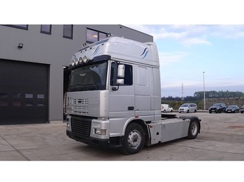 Tractor unit DAF 95 XF 430 Super Space Cab (MANUAL GEARBOX / BOITE MANUELLE)