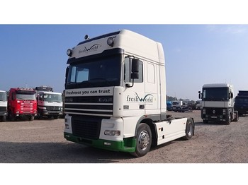 Tractor unit DAF 95 XF 430 Super Space Cab (MANUAL GEARBOX / PERFECT)
