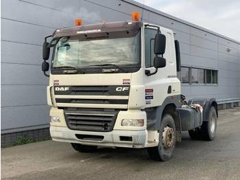 DAF CF85.410 MANUAL GEARBOX , BIG AXEL, FULL STEEL SUSPENSION - tractor unit