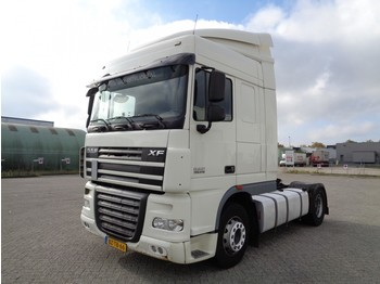 DAF XF105.410, Euro 5, SC, 2 Tanks, NL Truck, TOP!! - tractor unit