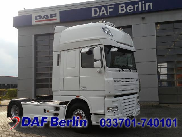 Tractor unit DAF XF 105  460 SSC, White Edition, Standklima — 1857105