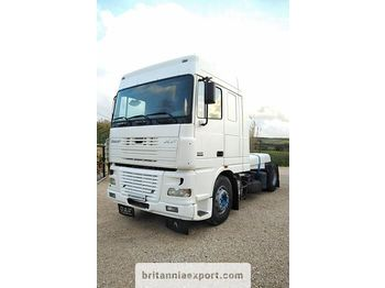 DAF XF 95 430 left hand drive ZF manual retarder euro 3 - tractor unit