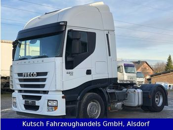 Iveco AS 420 Cube mit Schubbodenhydraulik  - tractor unit