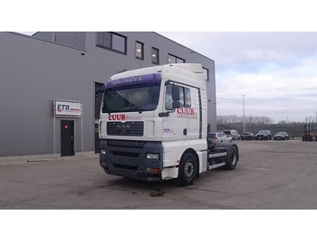 MAN TGA 18.440 (MANUAL GEARBOX / GOOD BELGIAN TRUCK WITH 395.000 KM !!!) - tractor unit