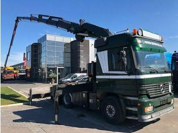 Mercedes-Benz ACTROS 2653 6X4 FASSI F60025 FLYJIP WINCH REMOTE  - tractor unit