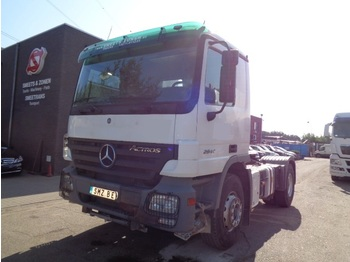 "Tractor unit Mercedes-Benz Actros 2044 Eps/blatt/lames/steal heay chassis 453""km retarder/hydraulic"