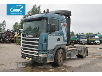 Tractor unit SCANIA 114