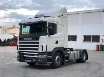 SCANIA 124 420 - tractor unit