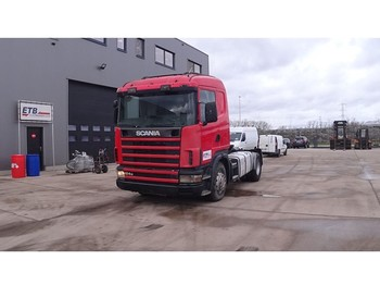 Tractor unit Scania 124 - 400 (MANUAL PUMP & MANUAL GEARBOX / EURO 2)