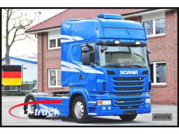 Tractor unit Scania R440 Topline ACC, Standklima, Navigation,