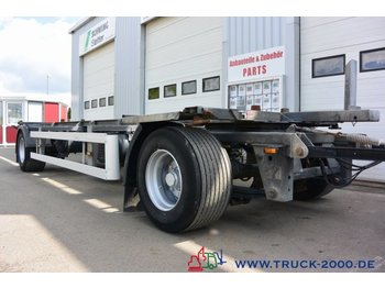 Ackermann EAF18-7.4 Lafette 1.020- 1.320 BPW 1.Hand - container transporter/ swap body trailer