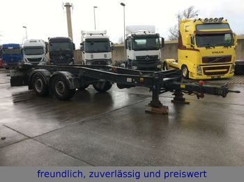 Hüffermann *HTSA 18.77 LS*2.ACHS*TANDEM-ABROLLANHÄNGER*  - container transporter/ swap body trailer