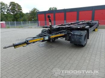 Container transporter/ swap body trailer Krone AZW 18