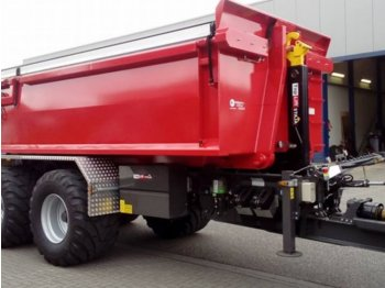 Toplift Staja Hakenlift TS 2257 - container transporter/ swap body trailer