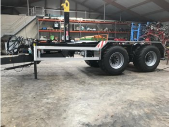 Toplift Staja TS 1857 - container transporter/ swap body trailer