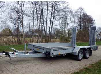 HUMBAUR HS 353718 - low loader trailer
