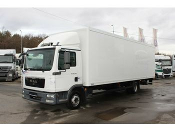 MAN TGL 12.2204X2BL,HYDRAULIC LIFT, 8,2 m,TIRES 80%  - box truck
