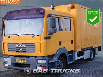 MAN TGL 12.240 4X2 Double-Cabin Ladebordwand - box truck