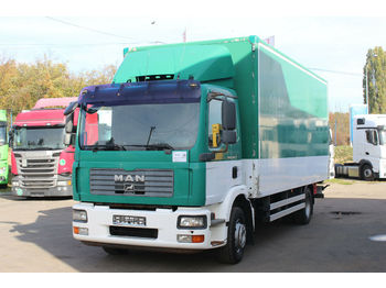MAN TGM 15.240 4X2 , HYDRAULIC LIFT  - box truck
